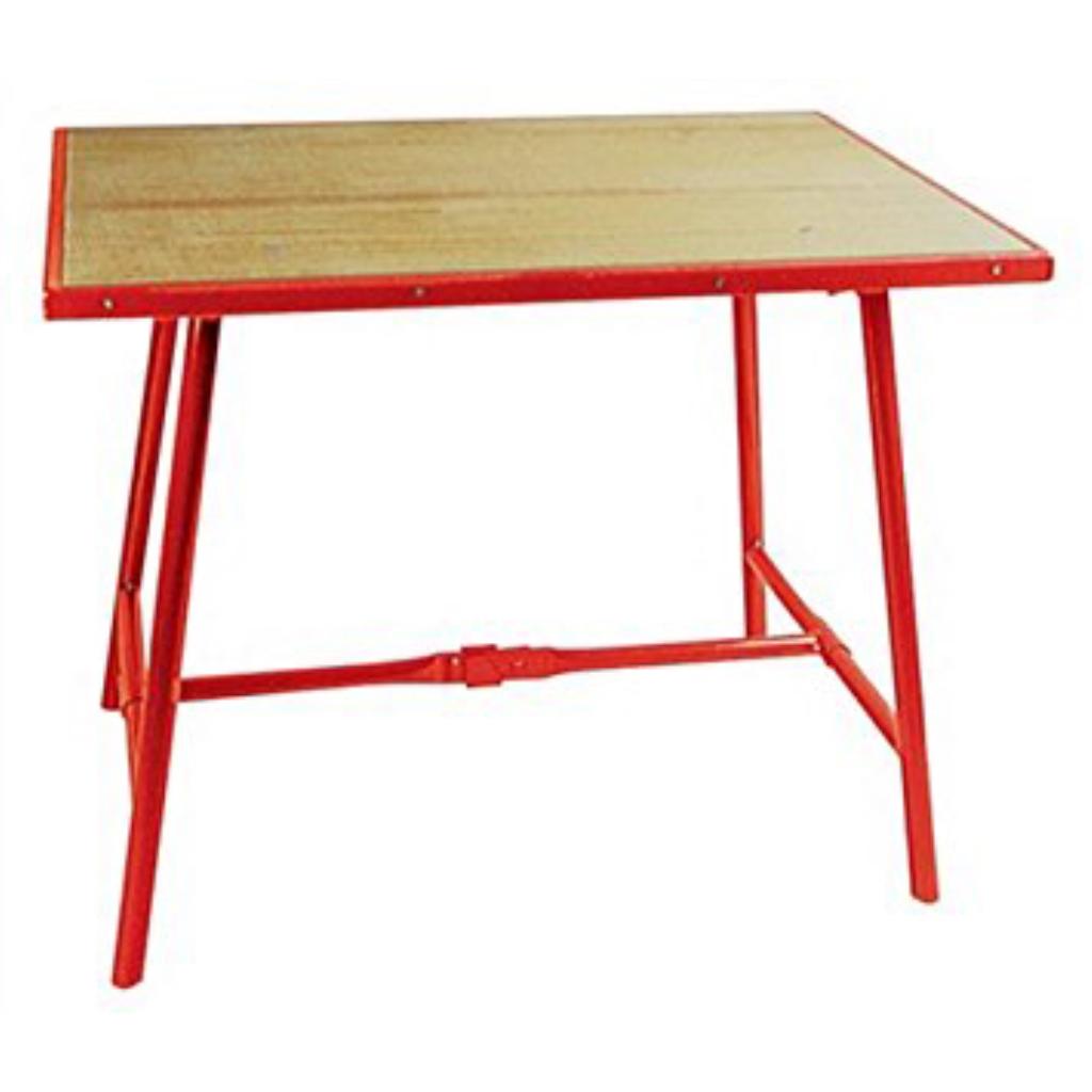 Laredo Brown Leather Dining Chair: Werkbank Klappbar (Klappwerkbank