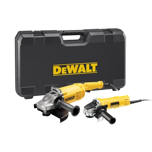 Winkelschleifer-Set DeWalt DWE494 TWIN